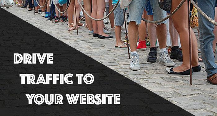 Øk trafikk til netstedet ditt