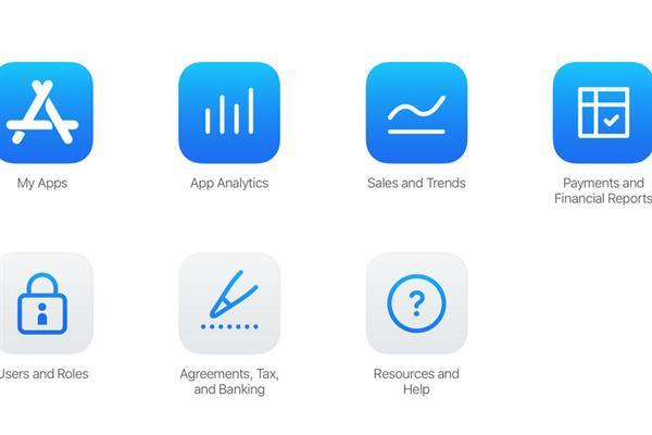 App Store Connect - oversiktsbilde