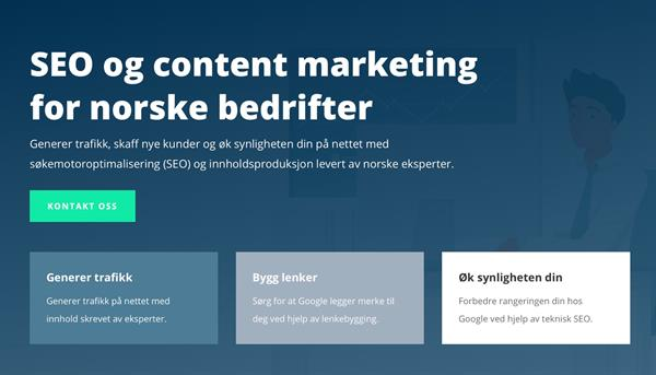Luvo Content Marketing for norske bedrifter